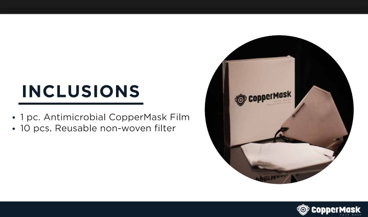 Why Coppermask ? Advantages over regular facemask